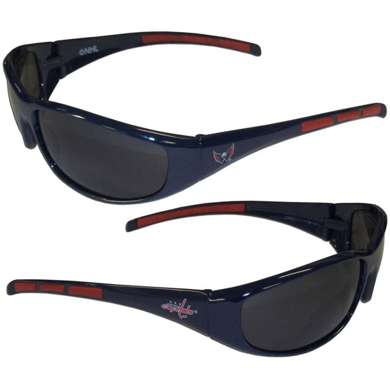 Washington Capitals�� Wrap Sunglasses (SSKG) - 757 Sports Collectibles