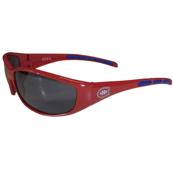 Montreal Canadiens�� Wrap Sunglasses (SSKG) - 757 Sports Collectibles