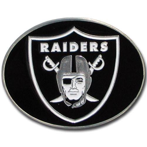 Oakland Raiders Logo Belt Buckle (SSKG) - 757 Sports Collectibles