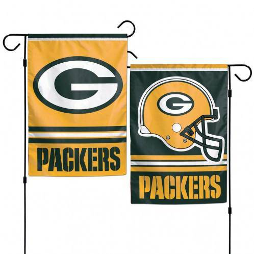 Green Bay Packers Flag 12x18 Garden Style 2 Sided (CDG)