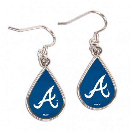 Atlanta Braves Earrings Tear Drop Style (CDG)