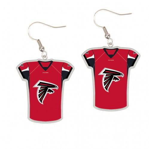 Atlanta Falcons Earrings Jersey Style (CDG)