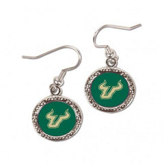 South Florida Bulls Earrings Round Style (CDG)