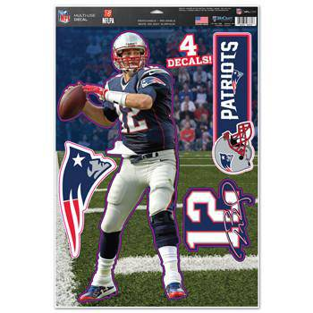 New England Patriots Tom Brady Decal 11x17 Multi Use (CDG)