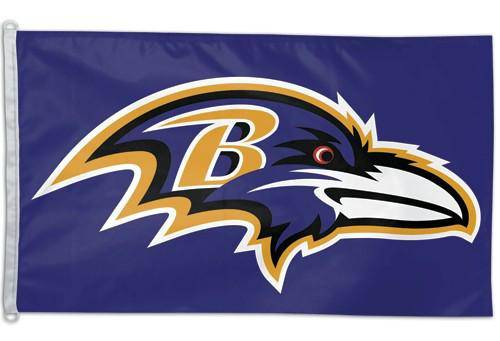 Baltimore Ravens Flag 3x5 (CDG)