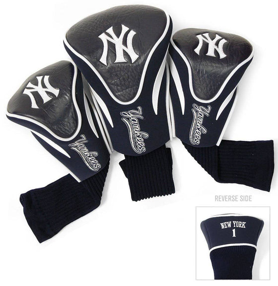 New York Yankees Golf Club 3 Piece Contour Headcover Set (CDG)