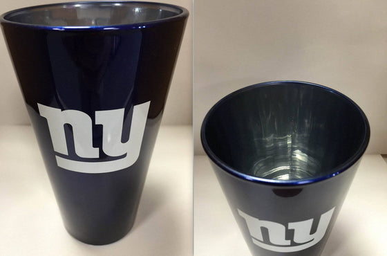 NFL New York Giants Lusterware 16 oz Glass Pint - 757 Sports Collectibles
