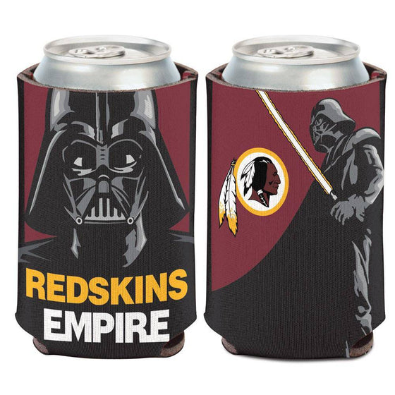 NFL Washington Redskins Empire Star Wars Darth Vader Can Coolor Koozie