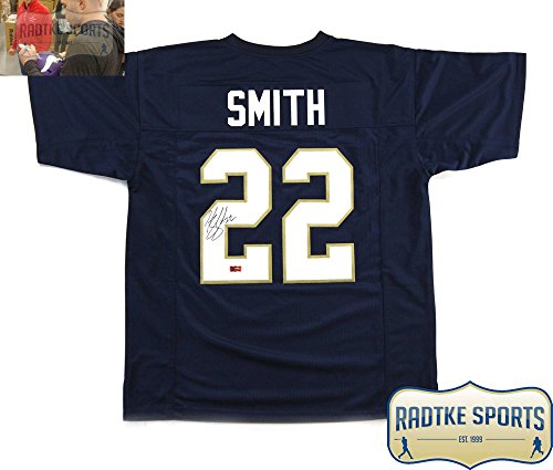 Harrison Smith Autographed Signed Notre Dame Fighting Irish Navy Custom  Jersey ... cc52b86ac