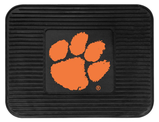 Clemson Tigers Car Mat Heavy Duty Vinyl Rear Seat (CDG)