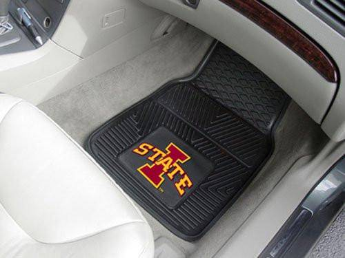 Iowa State Cyclones Heavy Duty 2-Piece Vinyl Car Mats (CDG)