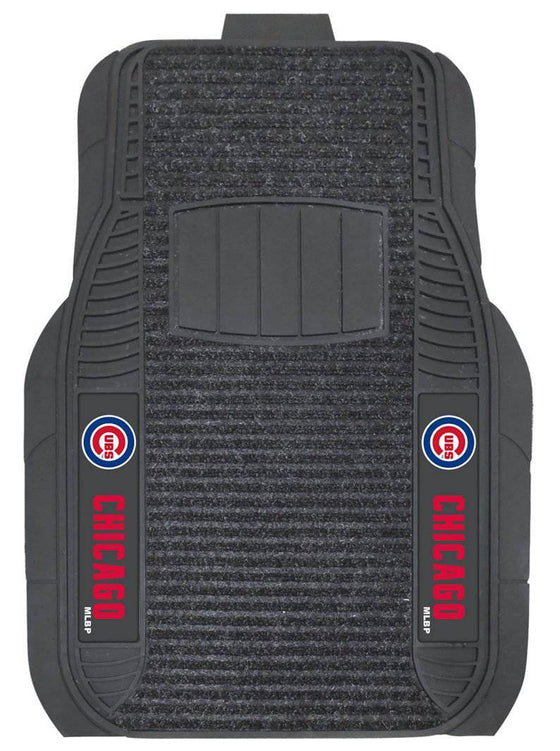 Chicago Cubs Car Mats - Deluxe Set (CDG)