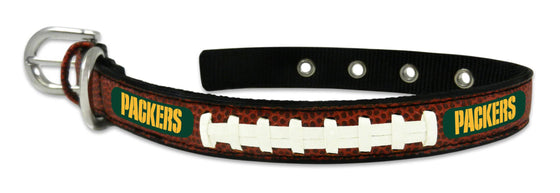 Green Bay Packers Dog Collar - Size Small (CDG)