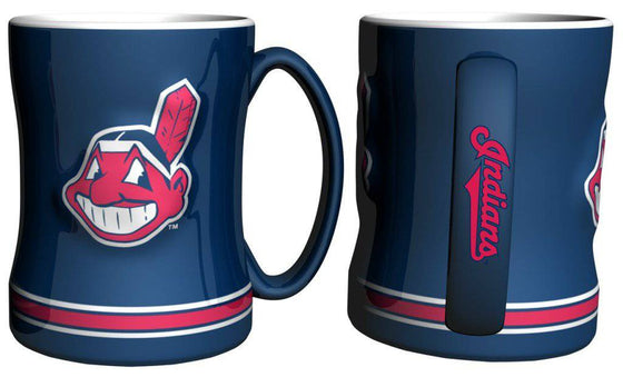 Cleveland Indians Coffee Mug - 14oz Sculpted Relief (CDG)