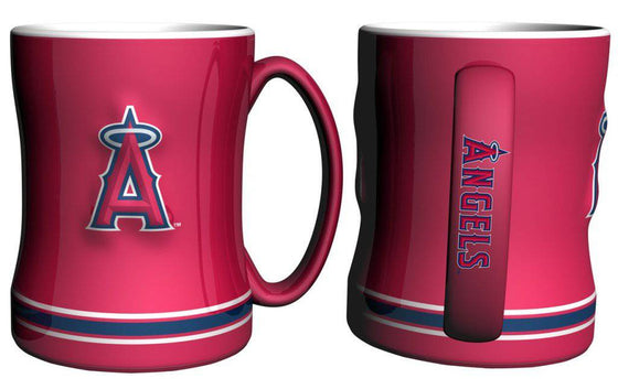 Los Angeles Angels of Anaheim Coffee Mug - 14oz Sculpted Relief (CDG)