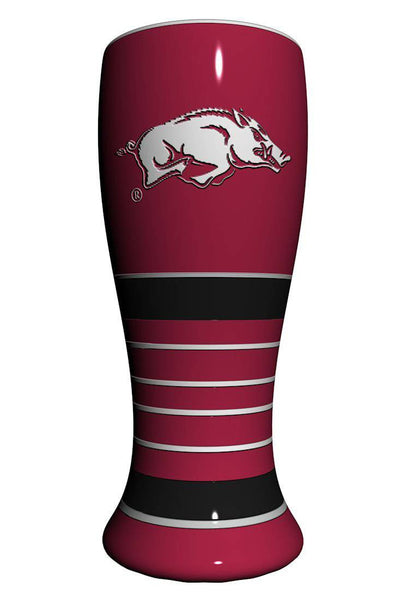 Arkansas Razorbacks Artisan Pilsner Glass (CDG)