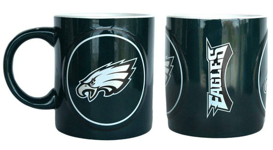 Philadelphia Eagles Coffee Mug - 14oz Sculpted Warm Up (CDG)
