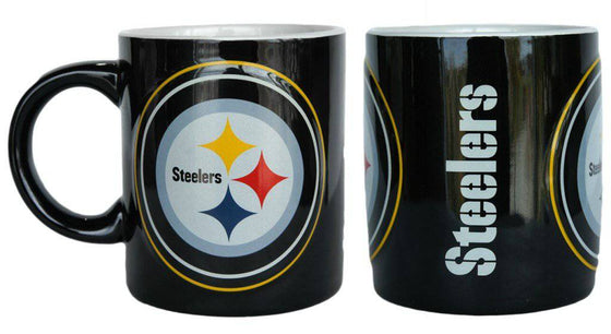 Pittsburgh Steelers Coffee Mug - 14oz Sculpted Warm Up (CDG)