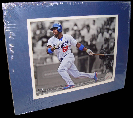 Yasiel Puig Los Angeles Dodgers Matted 8x10 Photo Picture Poster Print