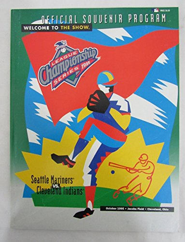 1995 ALCS Program Seattle Mariners Vs. Cleveland Indians 131823