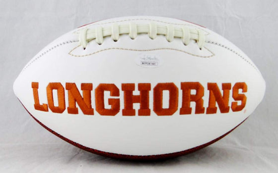 Ricky Williams Signed Texas Longhorns Logo Football w/Smoke Weed Everyday- JSA W Auth