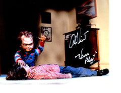 """CHUCKY"" Star Alex Vincent signed inscribed 8x10 photo"