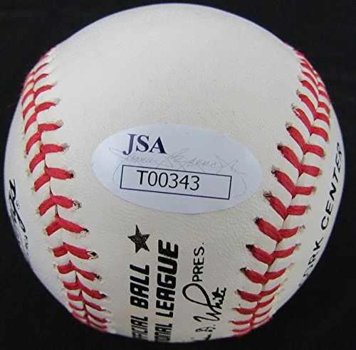 Al Dark Cardinals/Indians Autographed/Signed Official Rawlings Baseball 130823