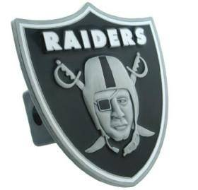 Oakland Raiders Trailer Hitch Logo Cover (CDG)