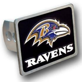 Baltimore Ravens Trailer Hitch Cover (CDG)