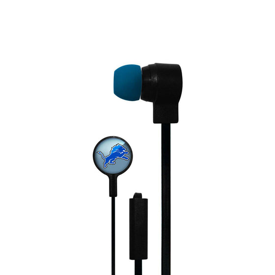 Detroit Lions Big Logo Ear Buds