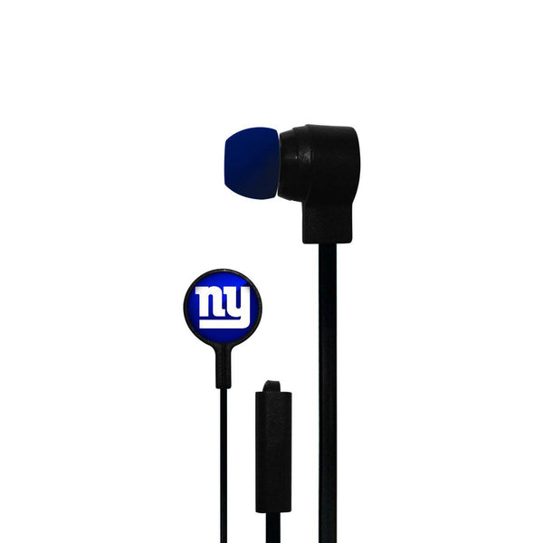 New York Giants Big Logo Ear Buds