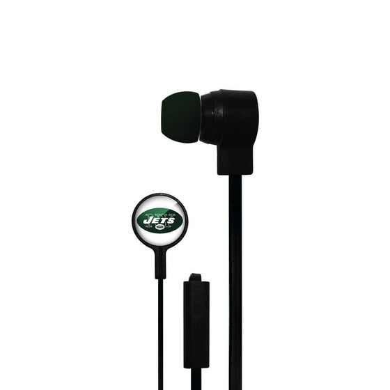 New York Jets Big Logo Ear Buds - 757 Sports Collectibles