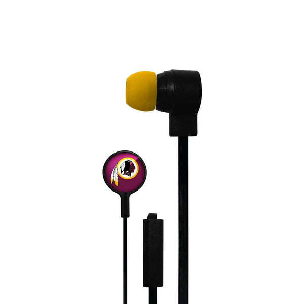 Washington Redskins Big Logo Ear Buds