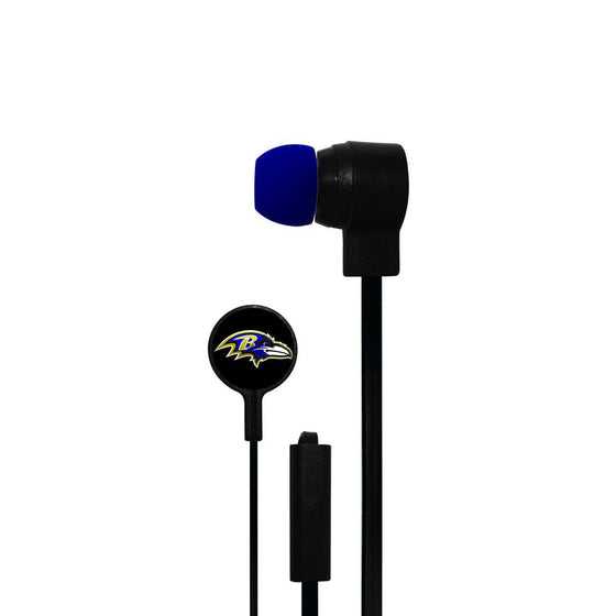 Baltimore Ravens Big Logo Ear Buds