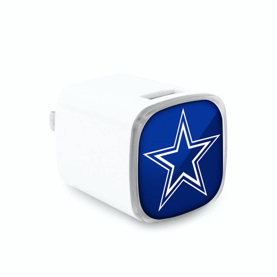 Dallas Cowboys Dual USB Wall Charger