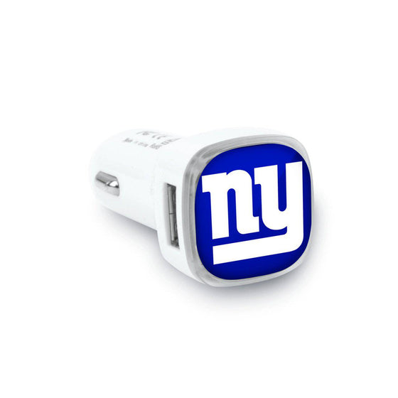 New York Giants Dual USB Car Charger