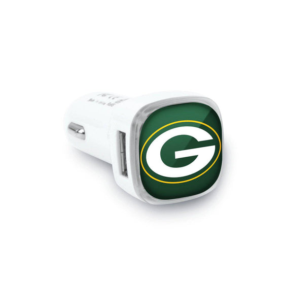 Green Bay Packers Dual USB Car Charger