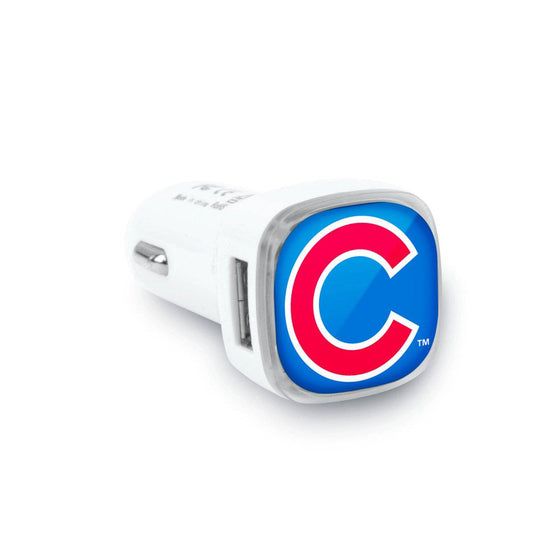 Chicago Cubs Dual USB Car Charger