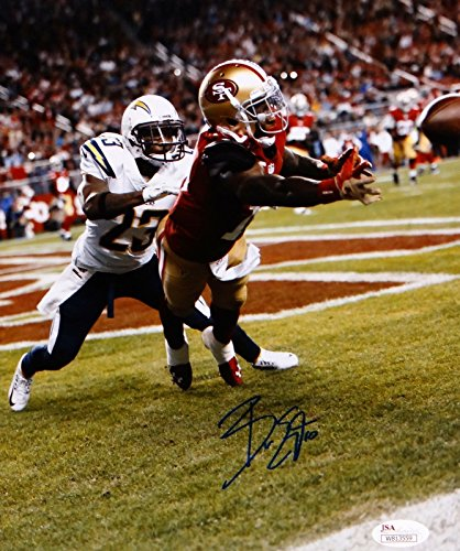 Bruce Ellington Autographed San Francisco 49ers 8x10 Diving Catch Photo-JSA Auth