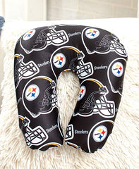 "12""x13"" NFL Travel Neck Pillow - Pittsburgh Steelers"
