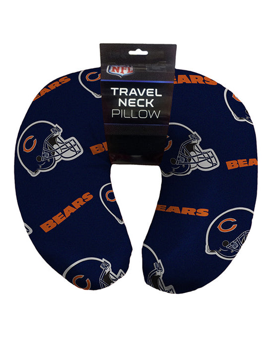 "12""x13"" NFL Travel Neck Pillow - Chicago Bears"