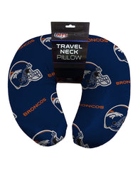"12""x13"" NFL Travel Neck Pillow - Denver Broncos"