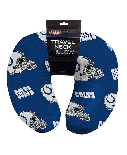 "12""x13"" NFL Travel Neck Pillow - Indianapolis Colts"