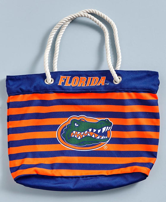 Collegiate Nautical Tote Bag - Florida Gators