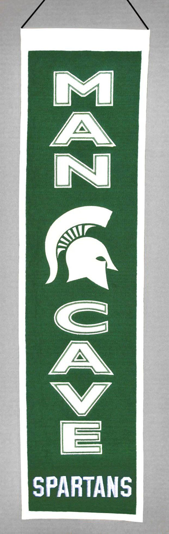 Michigan State Spartans Banner Wool Man Cave (CDG)
