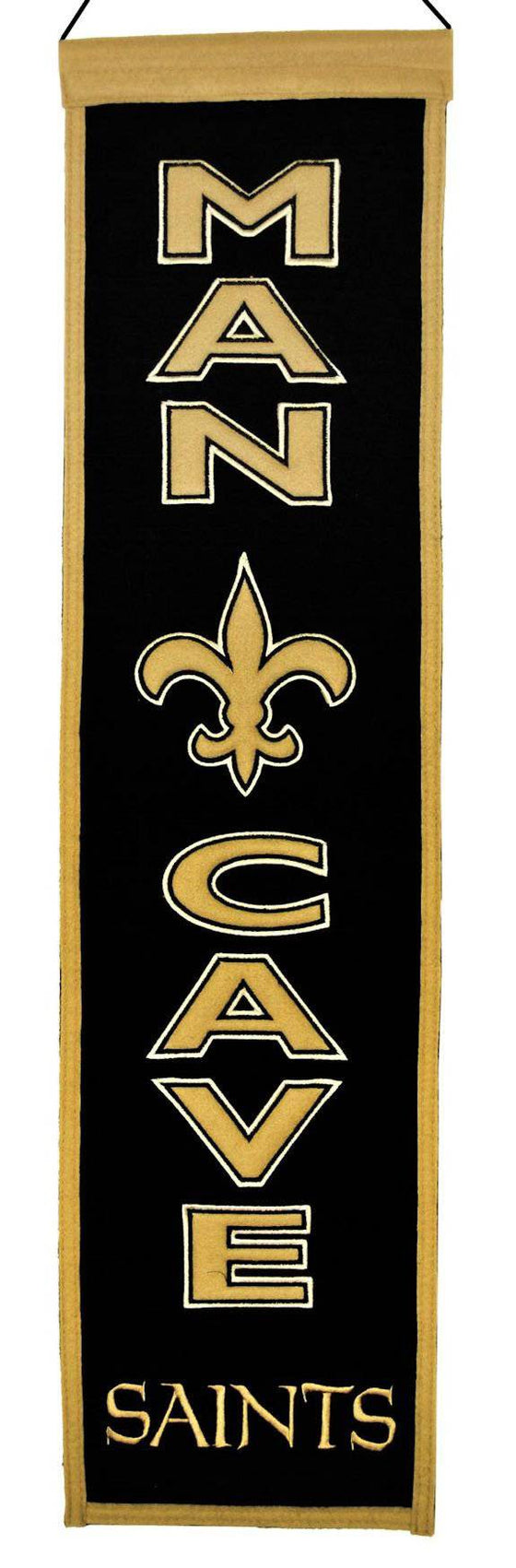 New Orleans Saints Banner Wool Man Cave (CDG)