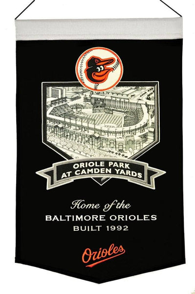 Baltimore Orioles Banner Wool Stadium Camden Yards (CDG)