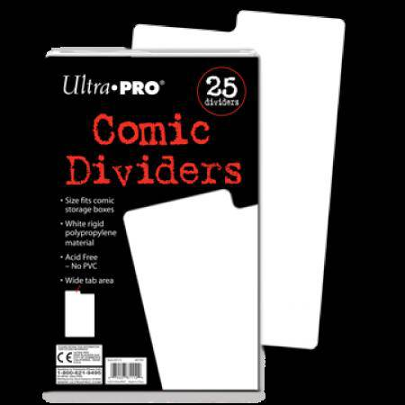 Comic Storage Dividers (25 per pack) (CDG)