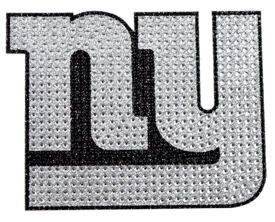 New York Giants Auto Emblem - Rhinestone Bling (CDG)