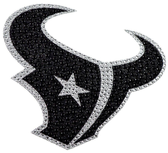 Houston Texans Auto Emblem - Rhinestone Bling (CDG)
